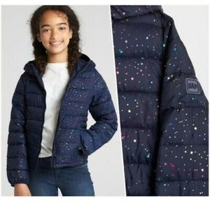 Gap Kids Sparkle Cold Control Puffer Jacket